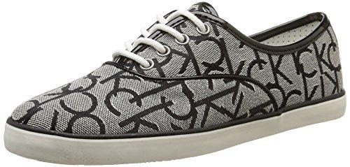 Calvin Klein Jeans - Rea, Sneakers da donna, grigio (grb), 38