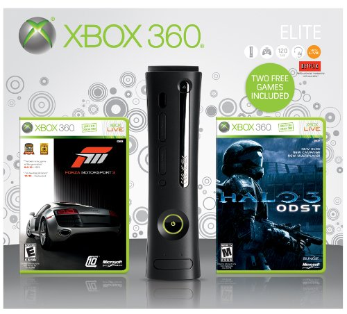 Xbox 360 120GB Elite Spring 2010 Bundle