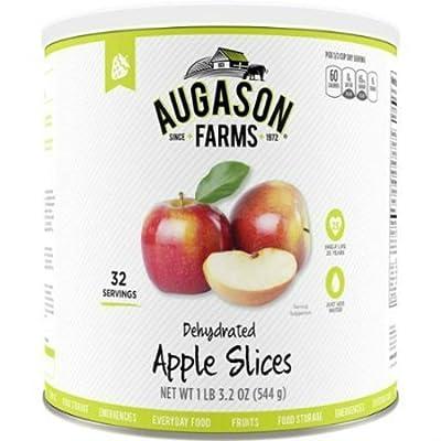 Augason Farms Emergency Food Dehydrated Apple Slices, 19.2 oz