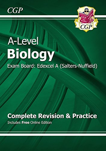 New 2015 A-Level Biology: Edexcel A Year 1 & 2 Complete Revision & Practice with Online Edition