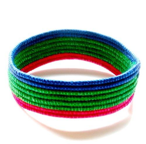 Nicole Miller Woven Bracelet (NM16) - Rwanda