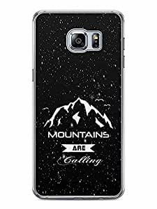 YuBingo Mountains are Calling Designer Mobile Case Back Cover for Samsung Galaxy S6 Edge Plus