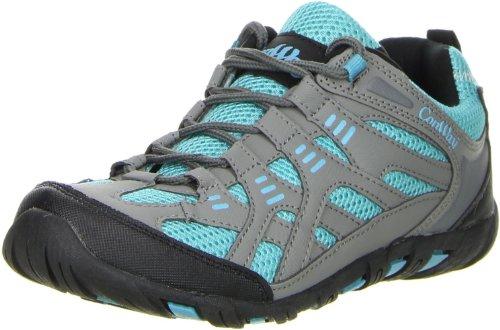 ConWay Damen Wanderschuhe Trekkingschuhe grau, Größe:38;Farbe:Grau