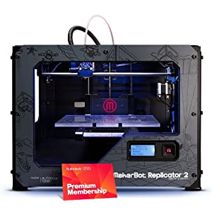 MakerBot Replicator 2 Desktop 3D Printer + 123D Premium Bundle