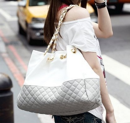 Ginkgo Store Brand New Korean Lady Hobo Tote PU leather handbag shoulder bag For Woman Brown