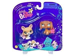 Amazon.com: Littlest Pet Shop Pet Pairs Corgi & Dachshund