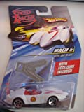 Hot Wheels Speed Racer 1:64 - Ice Caves Mach 5 With Saw Blades