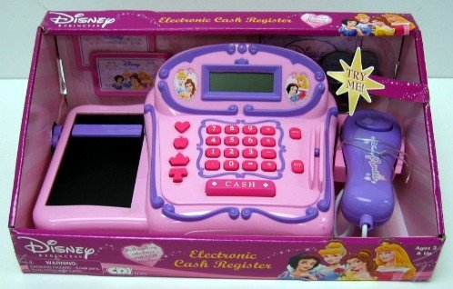 Disney Princess Electronic Cash Register - Buy Disney Princess Electronic Cash Register - Purchase Disney Princess Electronic Cash Register (CDI, Toys & Games,Categories,Pretend Play & Dress-up,Sets,Cooking & Housekeeping,Grocery Shopping)