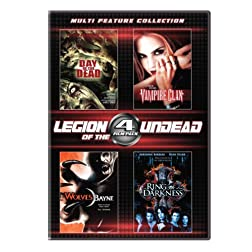 4 Film Legion of the Undead Set