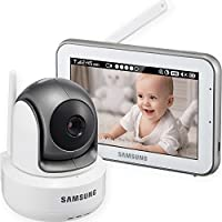 Samsung Wisenet BrightView SEW-3043W Baby Monitoring System with 5