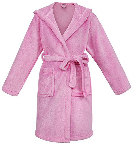 Simplicity Children's Hooded Bath Robe with Pockets