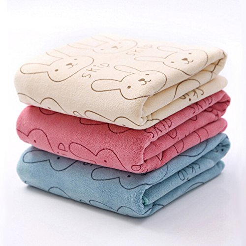 Learn More About [Free Shipping] 3pcs Soft Microfiber Baby Child Kids Bath Towels Brushed Strong Absorbent Dry Washcloth // 3pcs microfibra bebé niño niños toallas de baño suaves cepillado fuerte paño seco absorbente