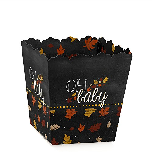 Oh Baby - Fall - Baby Shower Candy Boxes - Set Of 12 front-699539