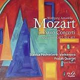 モーツァルト : ピアノ協奏曲集 (Wolfgang Amadeus Mozart : 3 Piano Concerti , A Quattro K.413, 414, 415 / Slavka Pechocova-Vernerova , Prazak Quartet , Pavel Nejtek) [SACD Hybrid] [輸入盤]