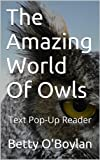 The Amazing World Of Owls - Text Pop-Up Reader