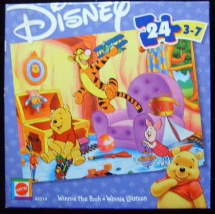 Winnie the Pooh 24 Piece Puzzle - 1