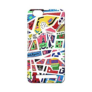 BLUEDIO Designer Printed Back case cover for Lenovo Vibe C ( A2020) - G5061
