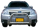 2009-2013 Subaru Forester Bull Bar Grille Guard Protection Stainless Steel