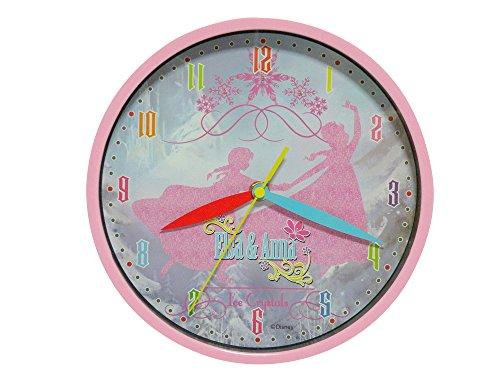 アナと雪の女王 FROZEN 3種類から選べる 壁 掛け 時計 アナ雪 ウォール クロック ポストカード セット / アナ / エルサ / オラフ (エルサ&アナ(シルエット))