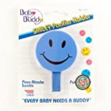 Baby Buddy Smiley Pacifier Holder, 1-Pack