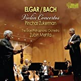 img - for Elgar: Violin Concerto; Bach: Violin Concerto by Pinchas Zuckerman, Israel Philharmonic Orchestra, Zubin Mehta [2012] book / textbook / text book
