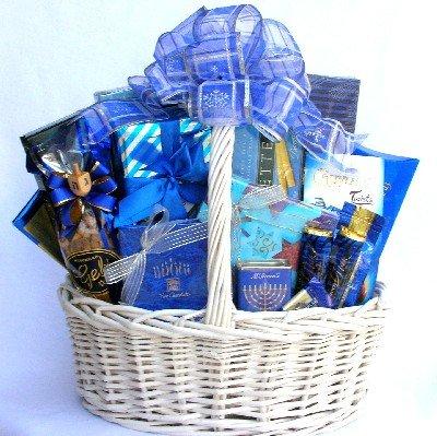 Festival Of Lights (Medium): Hanukkah Gift Basket