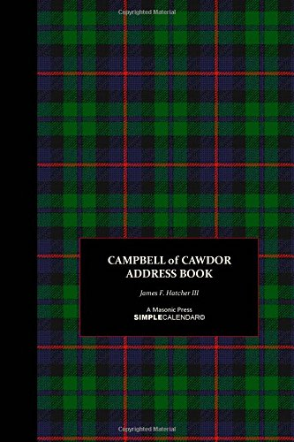 Campbell of Cawdor Address Book: Volume 1 (Campbell of Cawdor SimpleBooks© Collection)