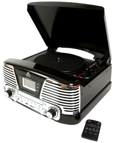 gpo-memphis-turntable-4-in-1-music-centre-with-cd-and-fm-radio-black