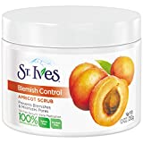 St. Ives Apricot Scrub Naturally Clear Blemish and Blackhead Control, 10-Ounce (Pack of 2)