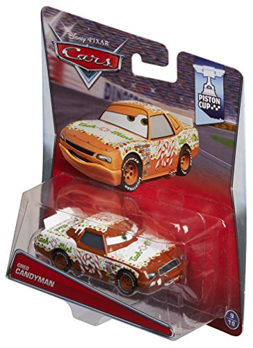 Disney/Pixar Cars Greg Candyman #101 Tach-O-Mint Diecast Vehicle