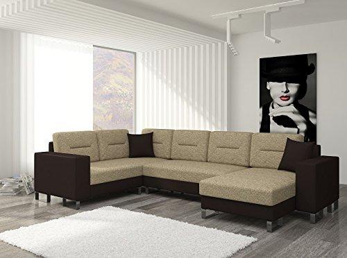 Wohnlandschaft Dorado1 Sofa Couch Ecksofa Eckcouch Polsterlandschaft 01278