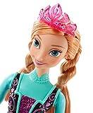La Reine des Neiges - Cfb81 - Poupée Mannequin - Princesse Anna Paillettes - Frozen
