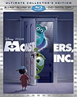 Monsters Inc Five-disc Ultimate Collectors Edition 3d Blu-ray Blu-ray Dvd Combo Digital Copy by Disney