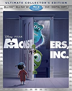 Monsters, Inc. (Five-Disc Ultimate Collector's Edition) (Blu-ray 3D / Blu-ray / DVD Combo + Digital Copy) by Disney-Pixar