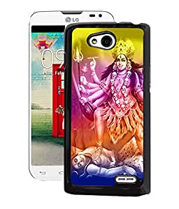 Fuson 2D Printed Lord Maa Kali Designer Back Case Cover for LG L90 - D502