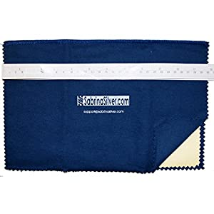 """Polishing Cloth for Silver, Gold, Brass & Most other Metals, 12""""x15"""" Largest Size"""