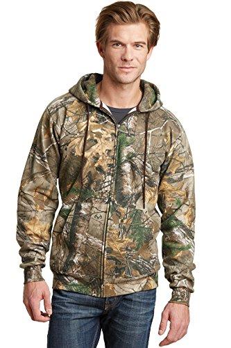 russell-outdoor-realtree-full-zip-hooded-ro78zh-gr-medium-braun-realtree-xtra
