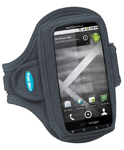Tune Belt Sport Armband for Droid X, Droid Incredible & more (fits larger smartphones and iPhones in protective cases like iPhone 4 in Bumper case)