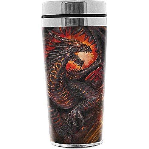 Spiral Dragon Collage di aspirazione si avvale di pallone da viaggio tazza di caldo/freddo tazza di caffè 0,45 litro