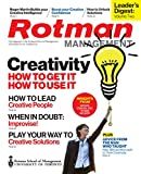 Creativity: Leader's Digest Volume Two: from Rotman Management: The Magazine of the Rotman School of Management at the University of Toronto