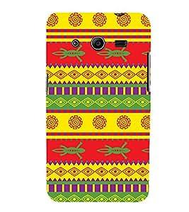 Festival Pattern Design 3D Hard Polycarbonate Designer Back Case Cover for Samsung Galaxy Core 2 G355H
