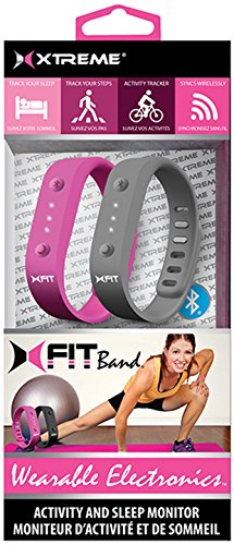 Black/Pink Xtreme Fitness Wristband