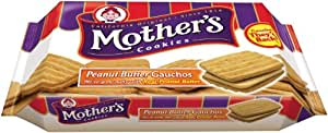 Mother's Peanut Butter Gauchos, 14.8-Ounce Packages (Pack of 4)