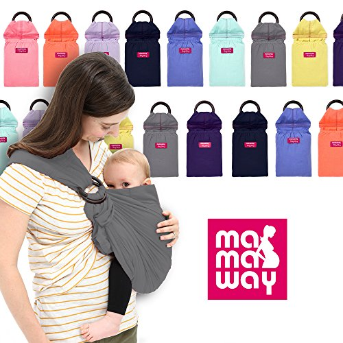 Fantastic Deal! Mamaway Baby Sling - Vintage Washed-Out - Comfortable for Your Baby - Breastfeeding ...