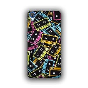 Caseque (Pro) Comic Cassette Back Cover for HTC Desire 820