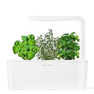 Click grow smart herb garden indoor grow for Indoor gardening amazon