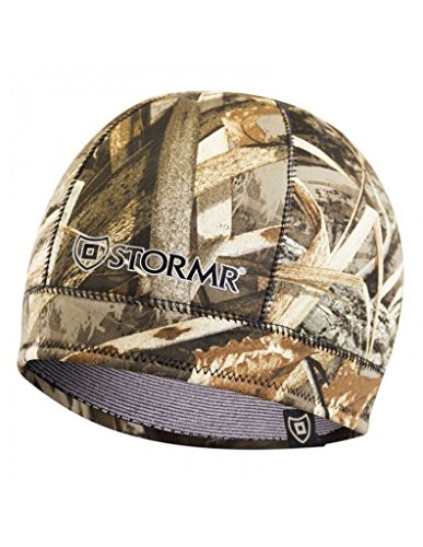 Best Review Of Stormr Men's Stealth Watch Cap Beanie, Realtree Max-5 Hunting, Camouflage & Camo Hunt...