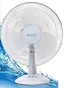 16SOGO SS 3070 16quot; Electric Table Fan available at Amazon for Rs.1345