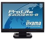 iiyama 20インチワイド液晶ディスプレイ  アスペクト比固定拡大機能搭載 ブラック PLE2002WS-B1