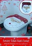 Toilettensitz Überzug, Weihnachtsmann Motiv